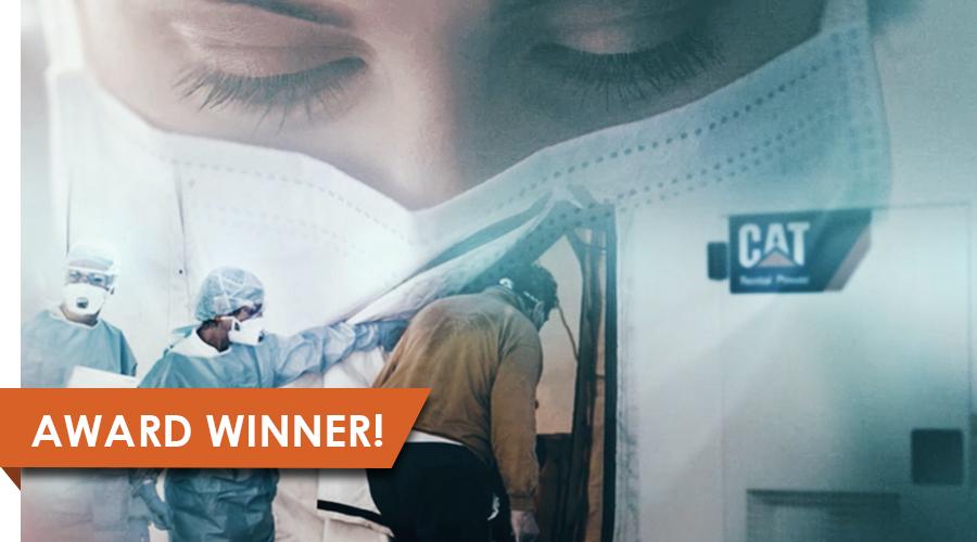 Caterpillar Covid Response Video-Award Winner